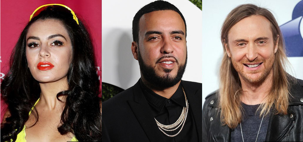 Charli XCX and French Montana Teams Up With David Guetta on 'Dirty