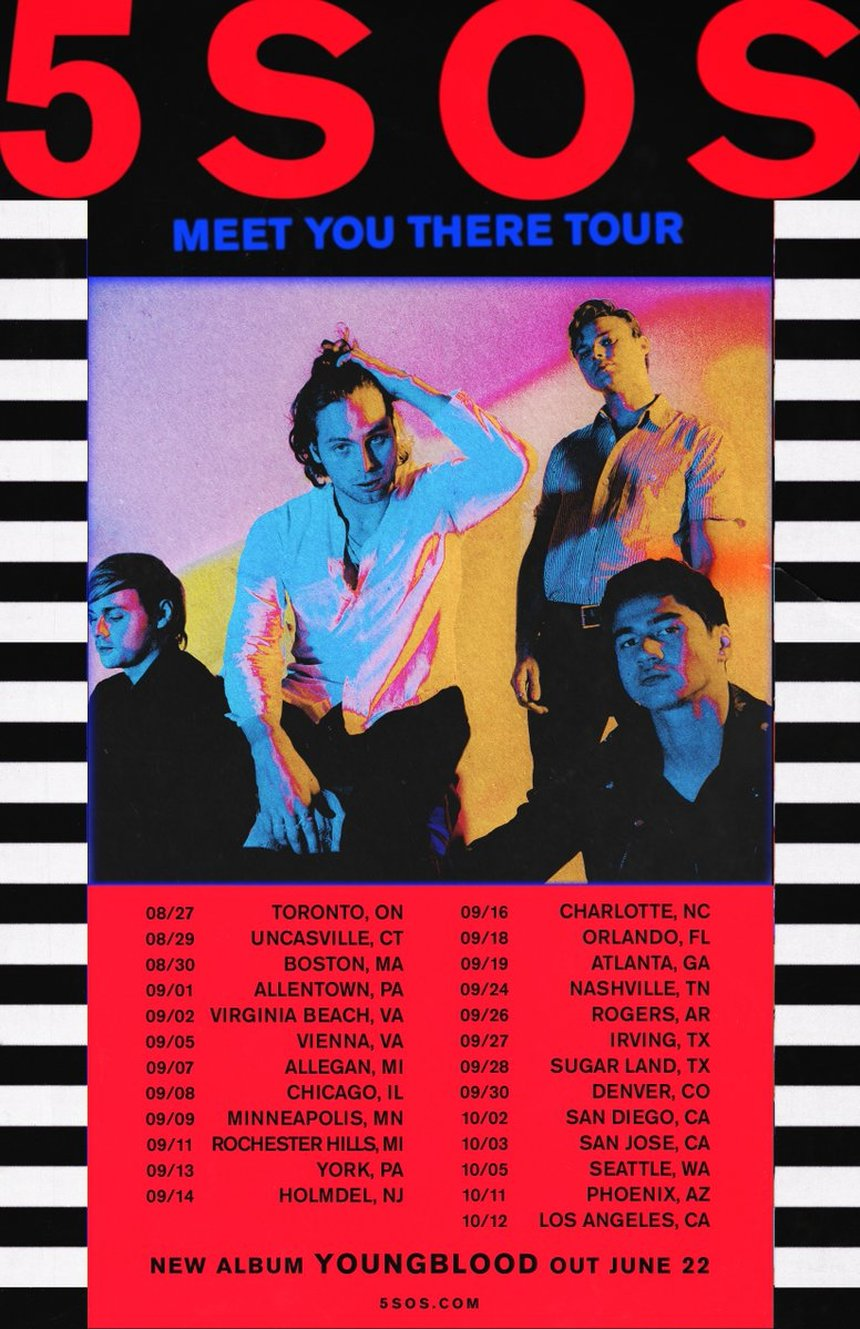 Seconds Of Summer Tour Charlotte