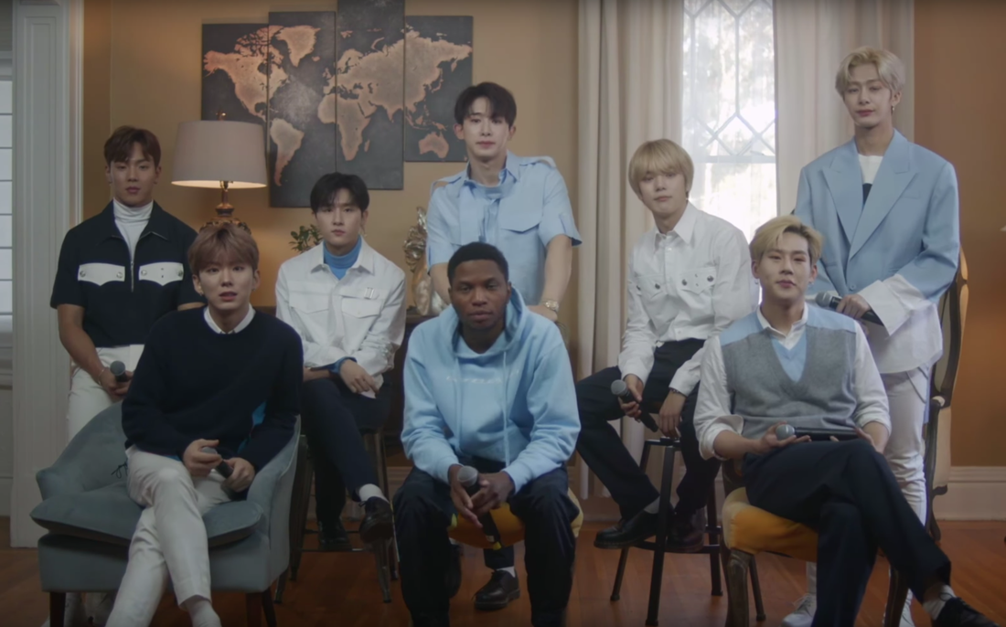 R&B and K-Pop Collide Featuring Gallant and Monsta X for